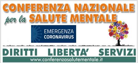conferenza nazionale salute mentale coronavirus